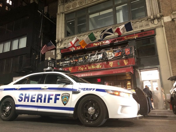 Visual from the site (Photo Credit: Twitter/NYC Sheriff)