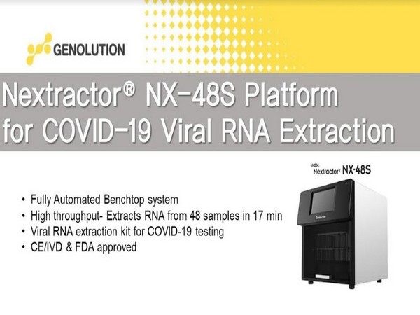 Extract 48 COVID RNA samples in just 17 Minutes with the latest technology from Genolution and Premas Life Sciences