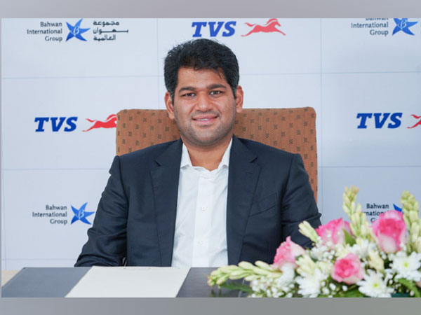 TVS Motor Company partners with Bahwan International Group, Sudarshan Venu marks partnership as a significant step to strengthen and expand presence in Iraq