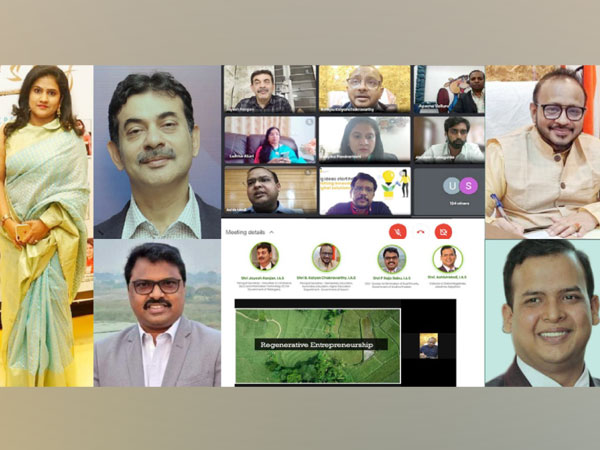 Sustainability talk by eminent dignitaries - Shri Jayesh Ranjan, I.A.S ,Shri B Kalyan Chakravarthy, I.A.S, Shri P Raja Babu, I.A.S , Shri. Ashish Modi, I.A.S and Deepika Joshi
