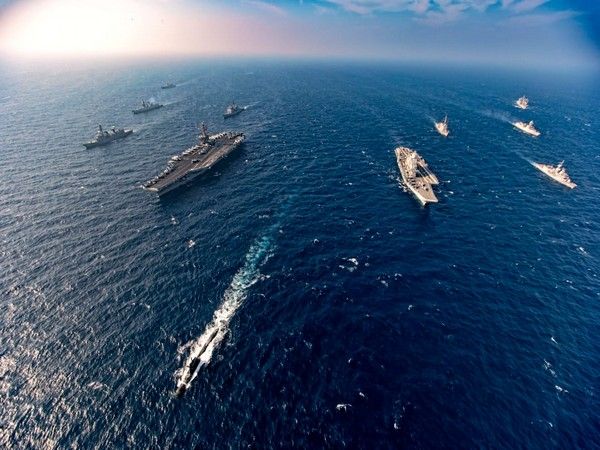 """Malabar-2020 wargames have shown """"extraordinary degree of interoperability"""" among four participating forces: Indian Navy"""