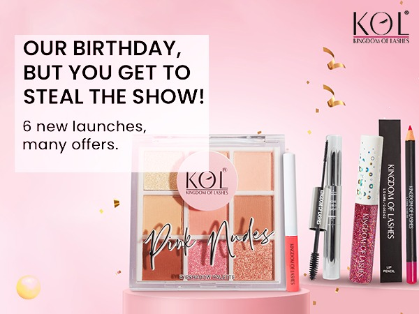 5TH year Anniversary Bonanza from Kingdom of Lashes with amazing offers this Diwali!