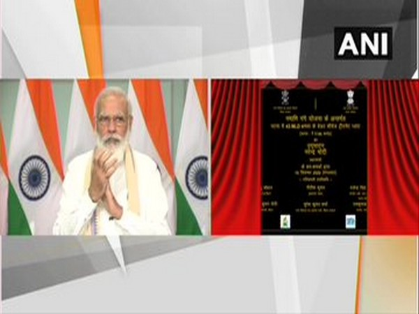 PM Modi lays foundation stone of several projects in Bihar