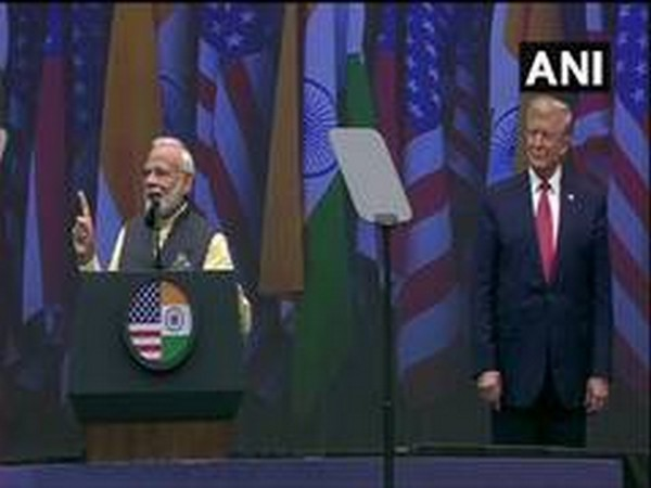 Prime Minister Narendra Modi and US President Donald Trump at 'Howdy Modi' event in Houston in September last year.