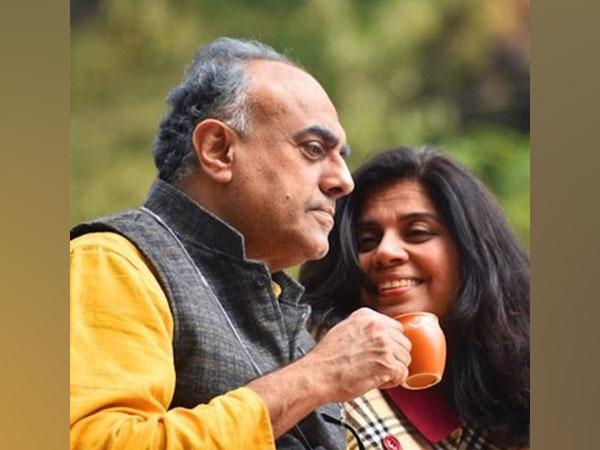 Meeta Vasisht as Poonam and Rajit Kapur as Suraj in the Social Short - Poonam