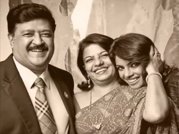 Priyanka Chopra with her parents