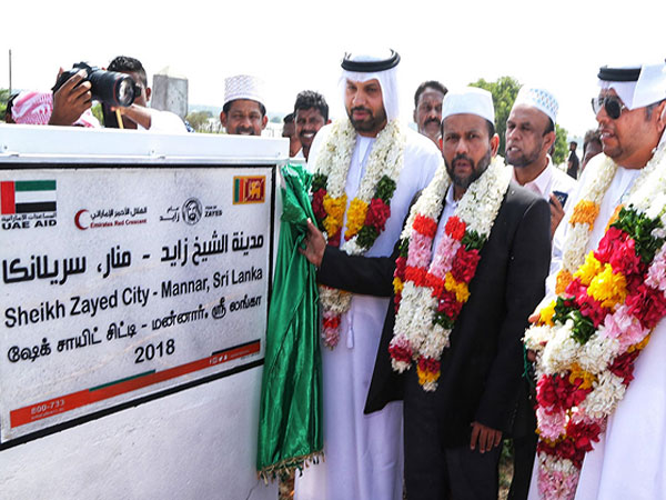 Sri Lanka's first fully UAE-funded IDP 'resettlement city opens