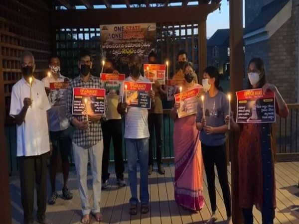 Andhra NRIs hold protests in solidarity with Amaravati movement in over 300 cities