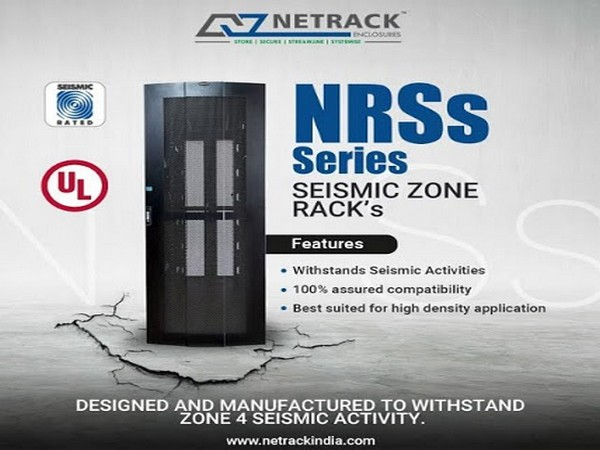 Netrack Introduces Seismic Rack Cabinet to Protect IT Equipment from Earthquake