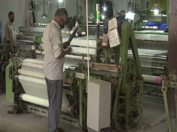 A visual from the silk factory in Srinagar, Jammu and Kashmir. (Photo/ANI)
