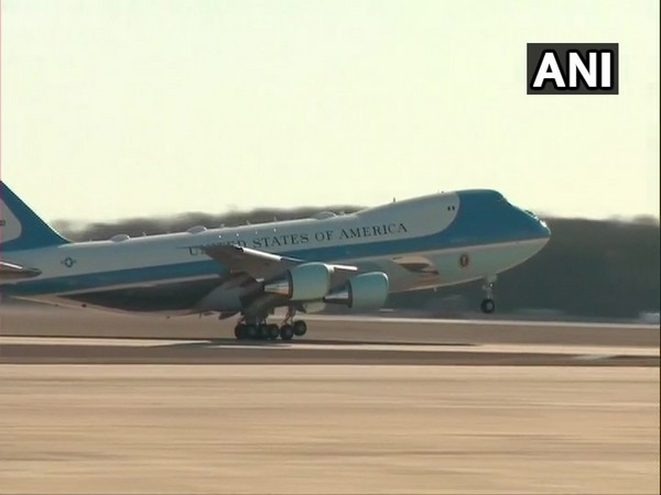 Trump, US First Lady depart for India
