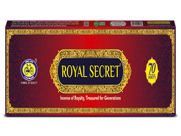 The Royal Secret Incense: Revealed by Cycle Pure Agarbathi