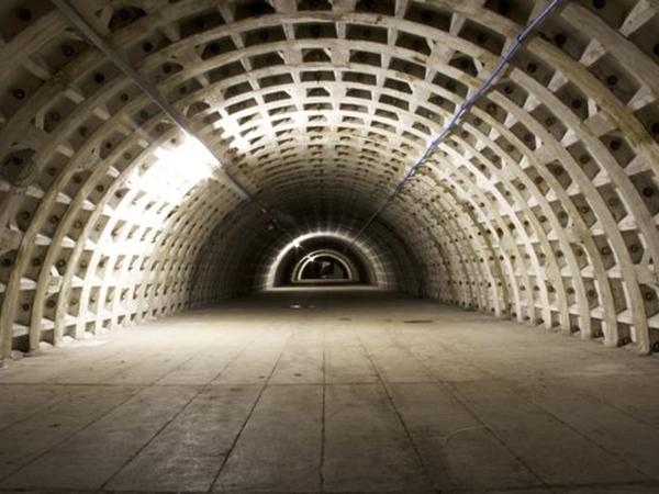 Inside London's hidden underground bomb shelter
