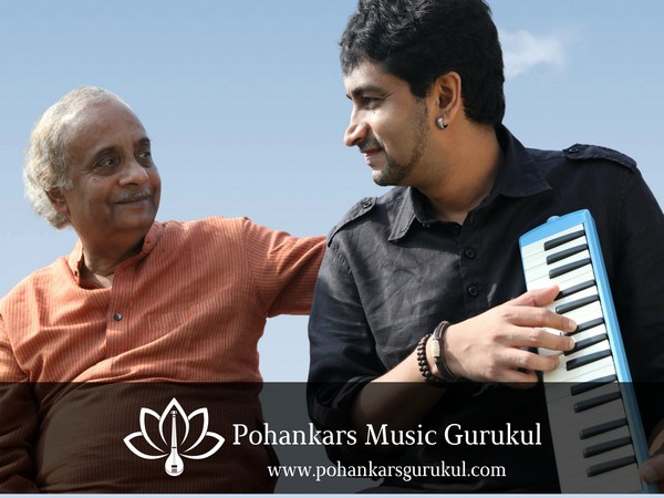 Fusion Maestro and Classical Keyboardist Abhijit Pohankar and his legendary father Vocalist Maestro Pandit Ajay Pohankar launch Online Music Academy
