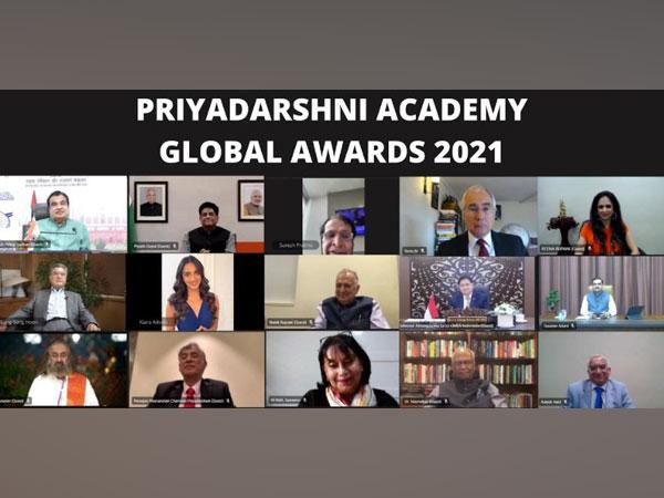 Priyadarshni Academy felicitates Global Achievers on its 37th Anniversary