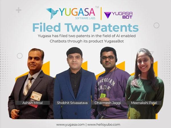 Yugasa Software Labs Filed Two Patents