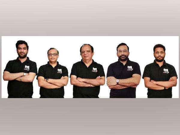 L to R: Priyank Saini, Ashish Khare, Vijay Sethi, S.K. Mohanty, Harsh Srivastava