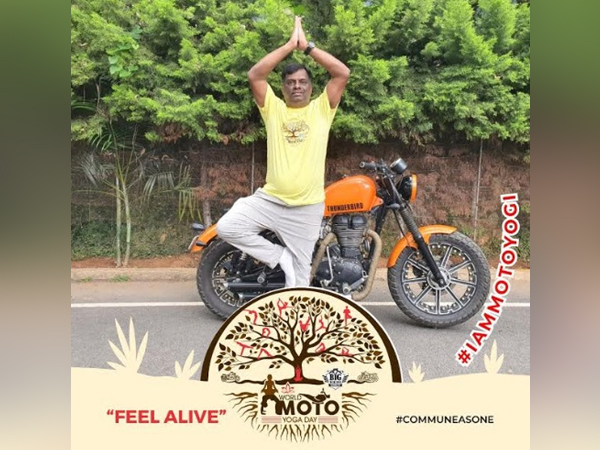 Arun Kumar, Convener, Big Biking Commune