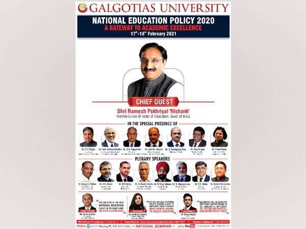 Galgotias University pledges to implement the National Education Policy 2020 fully