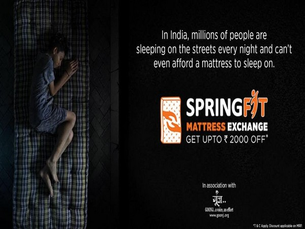 SpringFit's initiative LetsGiveSleep is helping millions of Indians get better sleep