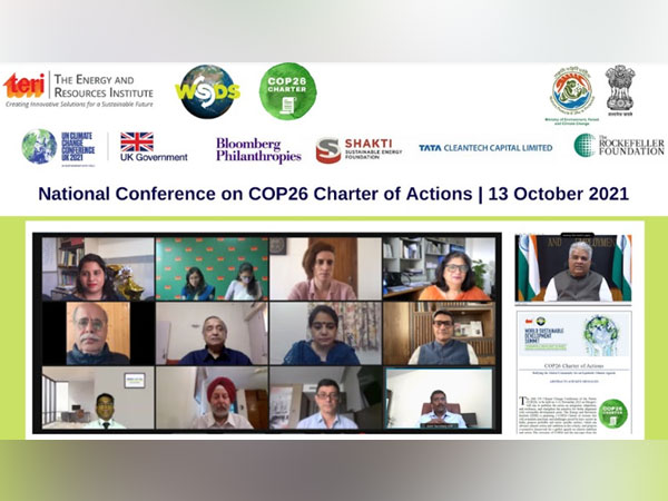 TERI organizes the National Conference on the COP26 Charter of Actions