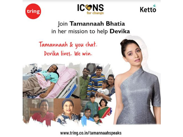 Tamannaah Bhatia is on a mission to help her colleague, Devika