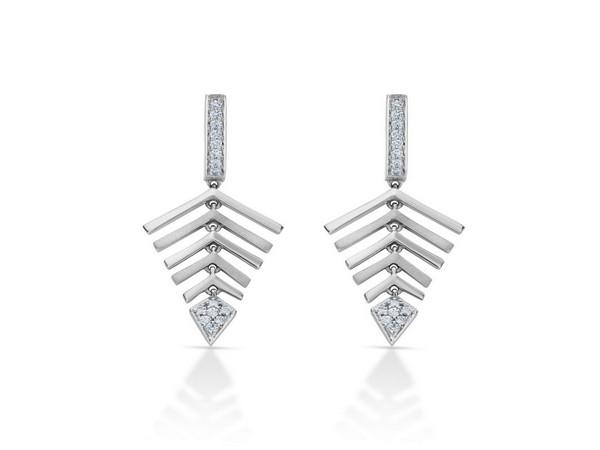 Earrings by Platinum Evara