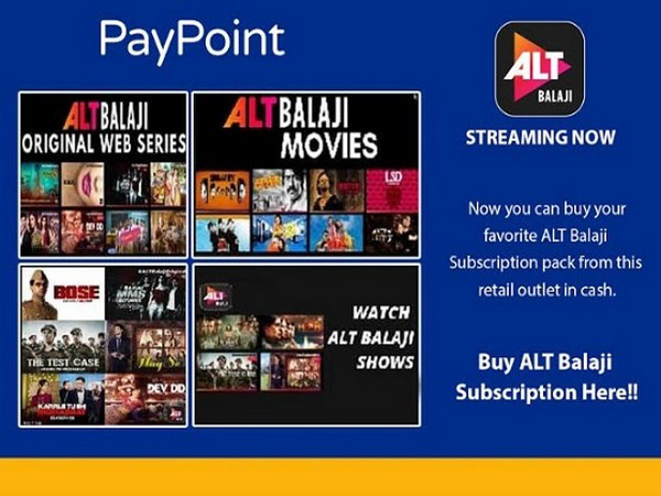 ALTBalaji and PayPoint India join hands for deeper OTT penetration