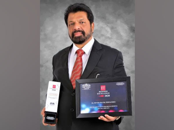 Dr. Devid Frank Fernandes wins excellence in entrepreneurship and social service