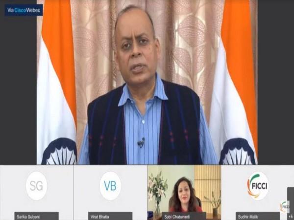 Dr Ajay Kumar, Defence Secretary, Govt of India addressing FICCI session on Women for Technology