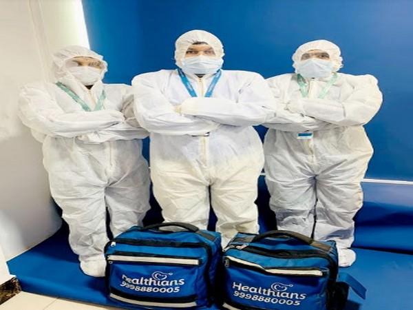 Healthians Doorstep Health Test Service