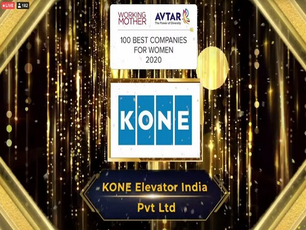 KONE Elevator India once again in the list of 100 Best Companies for Women