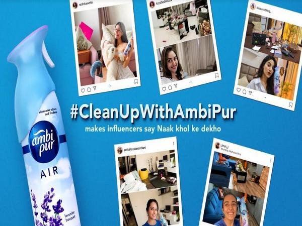 Ambi Pur Cleanup Challenge makes influencers say, 'Naak Khol Ke Dekho'
