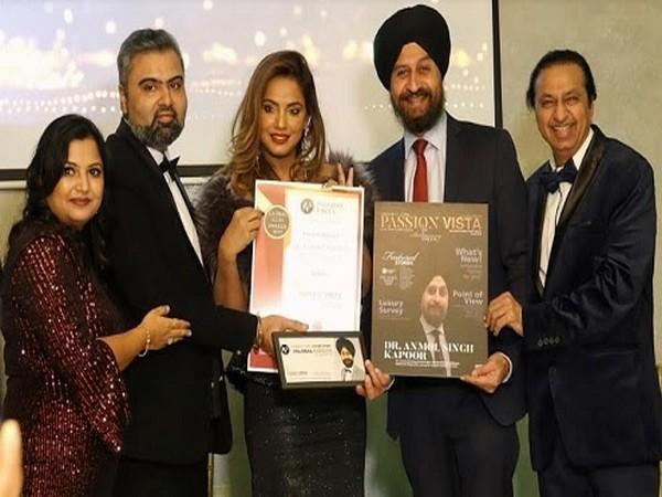 Dr Anmol Kapoor receives Global Icon Award 2019