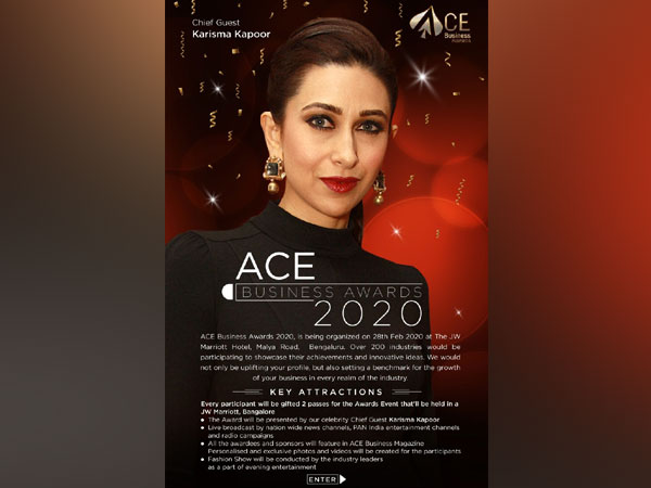 Gorgeous Karisma Kapoor and Shamita Shetty along with ACE Business Awards to felicitate entrepreneurs, achievers and champions