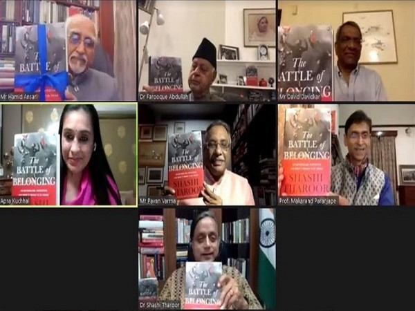 "Shashi Tharoor's latest book ""The Battle of Belonging"" launched by Prabha Khaitan Foundation"