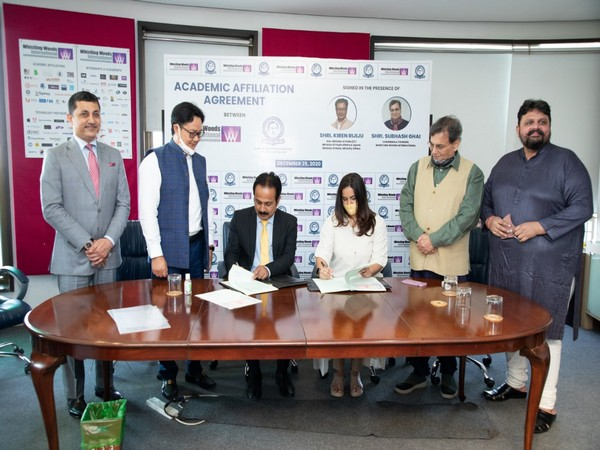 Whistling Woods International signs affiliation agreement with Rajiv Gandhi National Institute of Youth Development, MoYAS, GoI