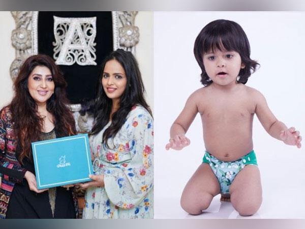 Designer Archana Kochhar with Snugkins Co-founder Komal Lalpuria