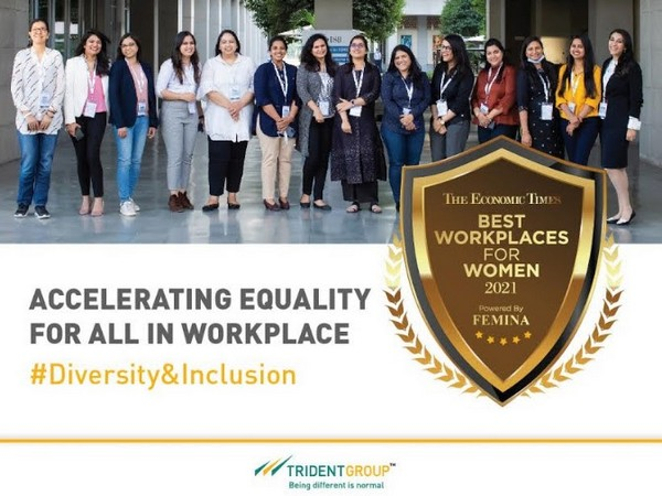 Trident Limited recognized as a Best Workplace for Women by Economic Times