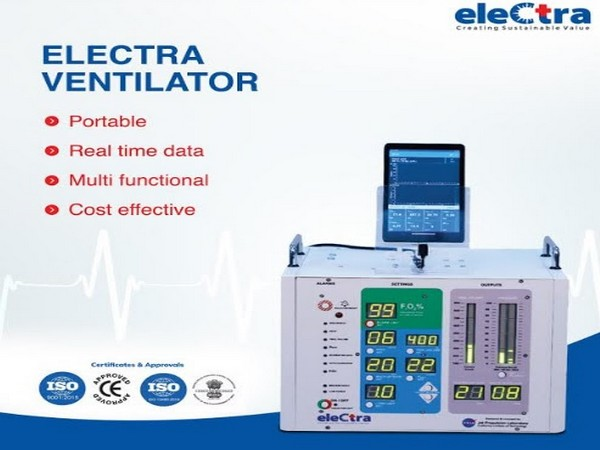 Indian Company developed portable ventilators for supporting increased demand during COVID