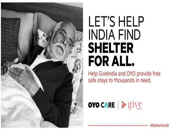 GiveIndia launches fundraiser to provide free shelter for the underprivileged during their recovery from COVID-19 in partnership with OYO Care