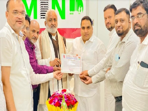 Saleem Sarang appointed as National General Secretary of NCP Minority Department and Observer for Maharashtra
