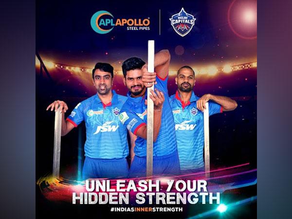 APL Apollo announces its proud association with team - Delhi Capitals for IPL 2020