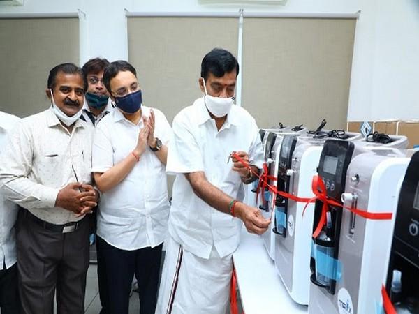 Launch of Oxygen Bank O2 Mission in Chennai by Bharatiya Jain Sanghatana, (BJS)