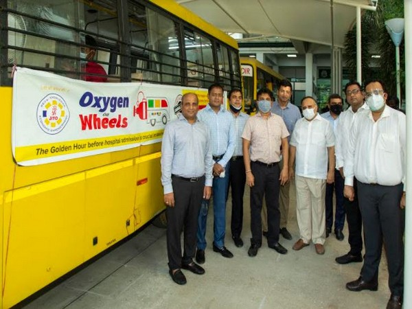 Jain International Trade Organisation (JITO) in association with Greater Chennai Corporation Launched - Oxygen on Wheels for COVID-19 Relief