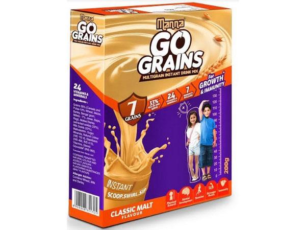 Manna Go Grain Malt