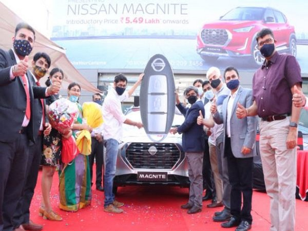 YouWe Nissan overwhelms a Magnite customer with 100 per cent cashback