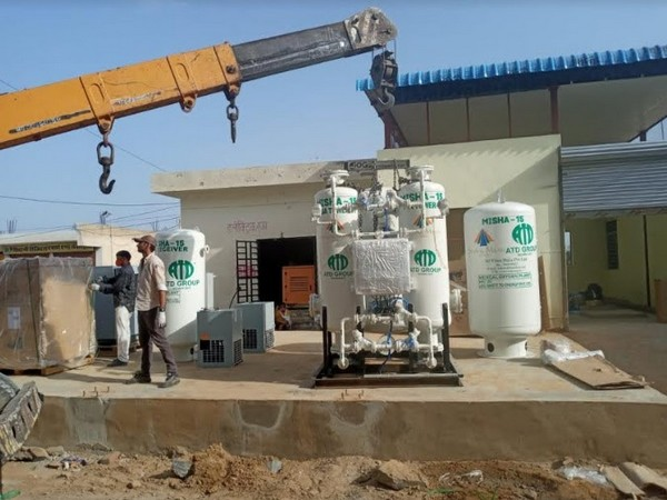 SRAM & MRAM with ATD Group successfully installs its 2nd oxygen plant in Rajasthan's Nawalgarh