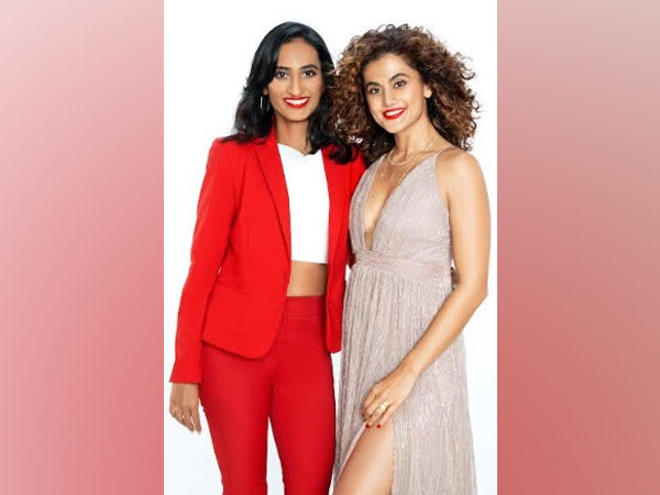 SUGAR Cosmetics launches its 'Bold And Free' campaign featuring Taapsee Pannu
