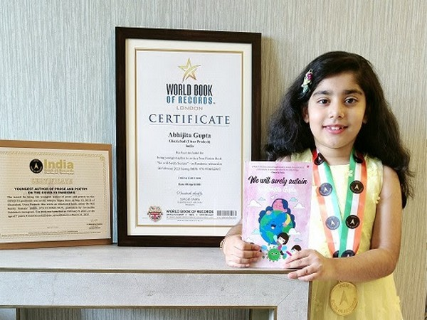 Youngest author to set another World record for her Second Book